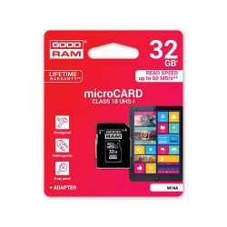 Micro Sdhc Goodram Slim 32GB Class10 + Adaptador-Limifield-Limifield