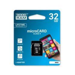 Micro Sdhc Goodram Slim 32GB Class4 + Adaptador-Limifield