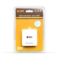 Leitor Cartoes Smart Card Cidadão Usb 2.0 Branco - LIMIFIELD