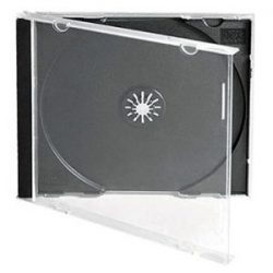Caixa Cd Jewel Case 200 Unidades - LIMIFIELD