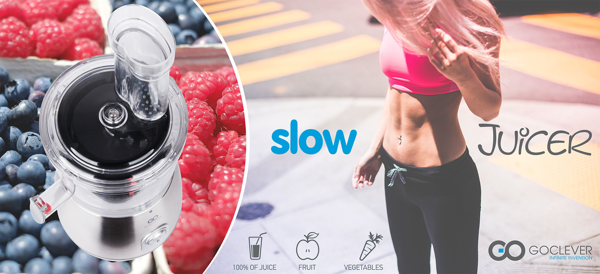 Slow Juicer Como Usar : Maquina de Sumos GoClever Slow Juicer - Limifield