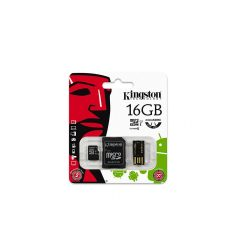 Micro SdHc Kingston 16Gb Class10 C/Mobility Kit - LIMIFIELD