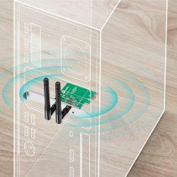TL-Placa de Rede TP-Link Pci-e Wireless 300Mbits - LIMIFIELD
