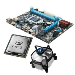 Motherboard Esonic H61QMBL + Cpu I3 3ª Geração + Cooler + Win10 Pro - LIMIFIELD