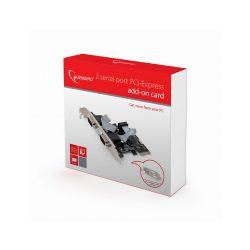 Placa Pci-Express 2 Portas Serie C/Adaptador Baixo Perfil - LIMIFIELD