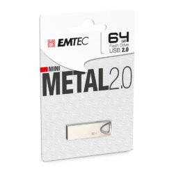 Pen Drive Emtec C800 64Gb Metal Usb 2.0