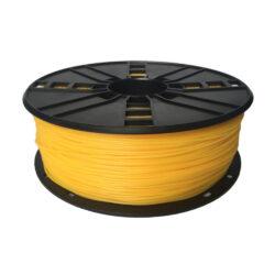 Filamento para Impressora 3D TPE Flexivel 1.75mm 1Kg Amarelo