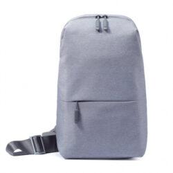 Mochila Xiaomi MI City Sling Bag Cinza Claro