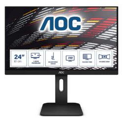 Monitor Aoc 24 X24P1 IPS FHD Colunas Hdmi Vga Dp 1