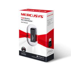 Adaptador Wi-Fi MERCUSYS 300Mbps USB 2.0 1