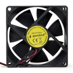 Ventoinha Gembird 80MM Para PC 4Pin